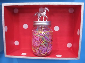 Craft Organiser Jar